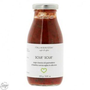sauce pop sciue tomate basilic 250 g 1 300x300 - SAUCE POP SCIUE' TOMATE BASILIC 250 G